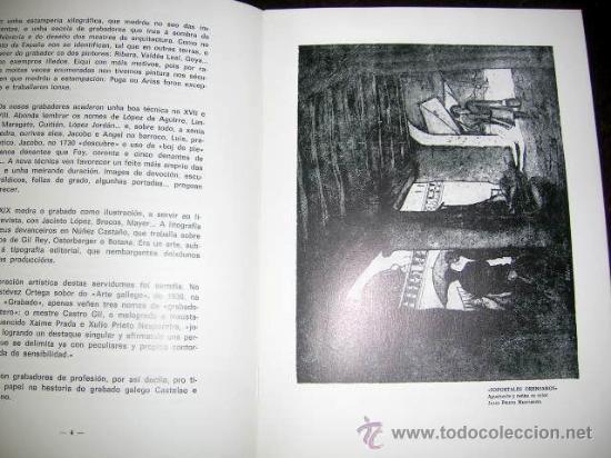 Arte: PRIETO NESPEREIRA E O GRABADO GALEGO 1977. HOMENAJE.3 REPRODUCIONES EN B y NGR. ORENSE.VER FOTOS - Foto 2 - 27731754