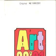 Arte: FOLLETO INFORMATIVO. BASEL 12. ART 22'91. EN FRANCES. EDICIÓN LIMITADA Y NUMERADA.. Lote 27806892