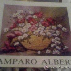 Arte: CATALOGO AMPARO ALBERT VALENCIA. Lote 28193723
