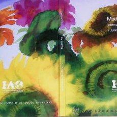Arte: PINTURA EN GINEBRA POR 8 GRANDES FIRMAS DEL ARTE MUNDIAL.JUNIO 2000.VARIOS IDIOMAS125 OBRAS.VER FOTO. Lote 28313741