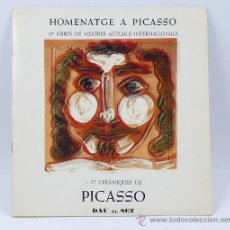 Arte - Homenatge a Picasso, Galeria dau al set, Barcelona 1977 - 28572694