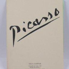 Kunst - Picasso. Catálogo sala gaspar, octubre 1982. Díptico - 28572704