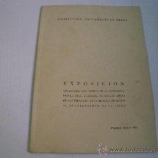 Arte: CATALOGO EXPOSICION CONCESION MEDALLA REAL ACADEMIA DE BELLAS ARTES AL AYUNTAMIENTO DE BILBAO - 1952. Lote 38695457