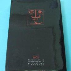 Arte: ASOCIACIÓN DE PROFESIONALES EN ARTE ANTIGUO Y MODERNO. HOTEL RITZ. MADRID. DICIEMBRE 1991. Lote 29353522