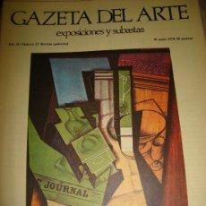 Arte: GAZETA DEL ARTE, EXPOSICIONES Y SUBASTAS, Nº 23,1974. Lote 29844219