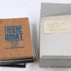 Arte: FREDERIC AMAT, GALERÍA TRECE, GENER 1979. BARCELONA. PORTFOLIO-CATÁLOGO DE LA OBRA DE OXACA 1978. Lote 189330432