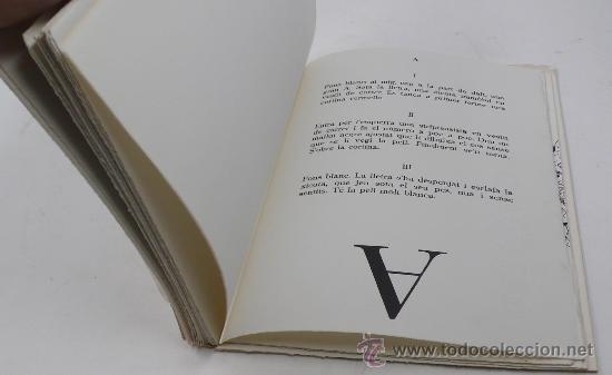 Arte: Joan Brossa. STRIP-TEASE. Tiraje A, de solo 22 ejemplares para el Autor. Año 1982 - Foto 6 - 30077421