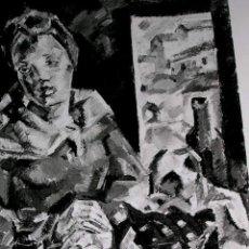 Arte: MARÍA BLANCHARD.: IDENTIFICATIVA CUADRO EXPUESTO Y PUBLICADO CATÁLOGO,CON SELLO GALERIA ARTE.. Lote 30712433