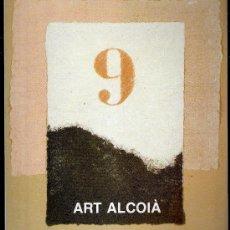 Arte: NOU ART ALCOIÀ. CENTRE CULTURAL D'ALCOI ( ALCOY ). OCTUBRE - NOVIEMBRE 1989.. Lote 30519609