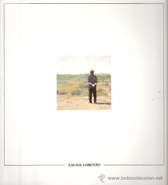 XAVIER LORENZO. PINTURA I DIBUIX. CENTRE CULTURAL D'ALCOI (ALCOY). DICIEMBRE 1991. (Arte - Catálogos)