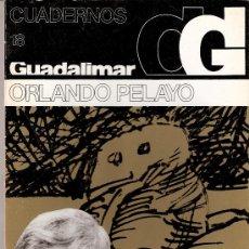 Arte: ORLANDO PELAYO. CUADERNOS GUADALIMAR. Nº 18. EDICIONES RAYUELA. 1978.. Lote 30625938