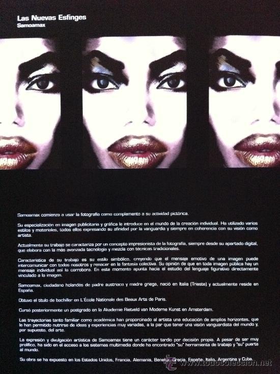 Arte: Envío 6€. CATALOGO SAMOAMAX LAS NUEVAS ESFINGES - Foto 5 - 262679685
