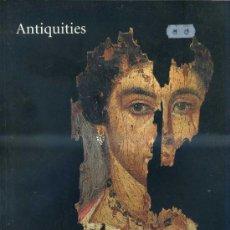 Arte: SOTHEBY'S ANTIQUITIES 10-XII-1996 -CATÁLOGO DE SUBASTA DE OBJETOS DE ARQUEOLOGÍA. Lote 30960029
