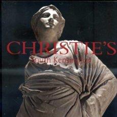 Arte: CHRISTIE'S THE NEWTON HALL ATHENA 6-XI-2002 -LA ESTATUA DE ATENEA. Lote 30960622