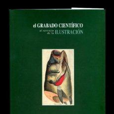Arte: *EL GRABADO CIENTÍFICO AL SERVICIO DE LA ILUSTRACIÓN* ED. FUENDETODOS 1996.. Lote 31619041