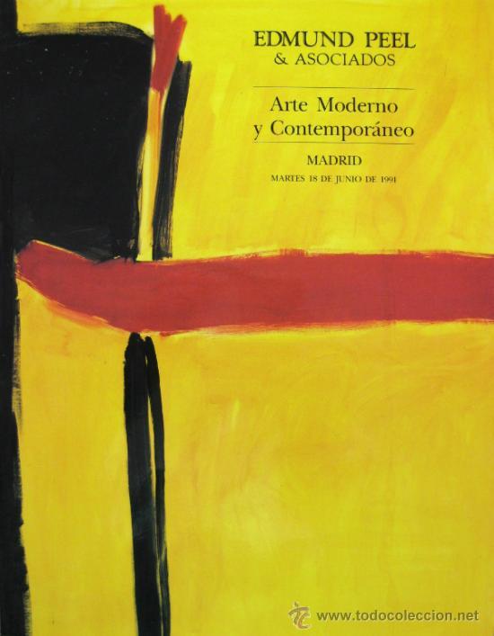 CATALOGO - CASA DE SUBASTAS EDMUND PEEL & ASOCIADOS - ARTE MODERNO Y CONTEMPORÁNEO - 18 JUNIO 1991 (Arte - Catálogos)