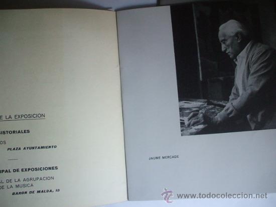 JAUME MERCADÉ - HOSPITALET DE LLOBREGAT - 1964 (Arte - Catálogos)