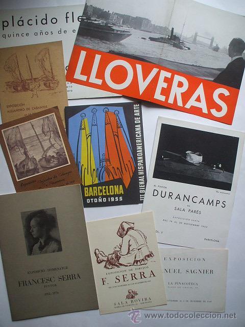 LOTE DE 40 CATALOGOS DE ARTE DE LOS AÑOS 30-40-50-60 (Arte - Catálogos)