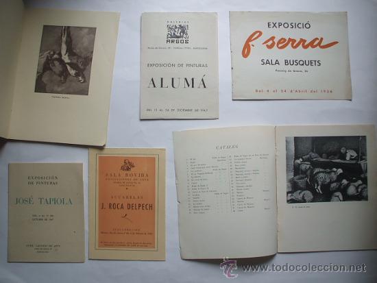 Arte: Lote de 40 CATALOGOS DE ARTE de los años 30-40-50-60 - Foto 3 - 32087097
