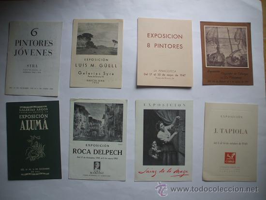 Arte: Lote de 40 CATALOGOS DE ARTE de los años 30-40-50-60 - Foto 4 - 32087097