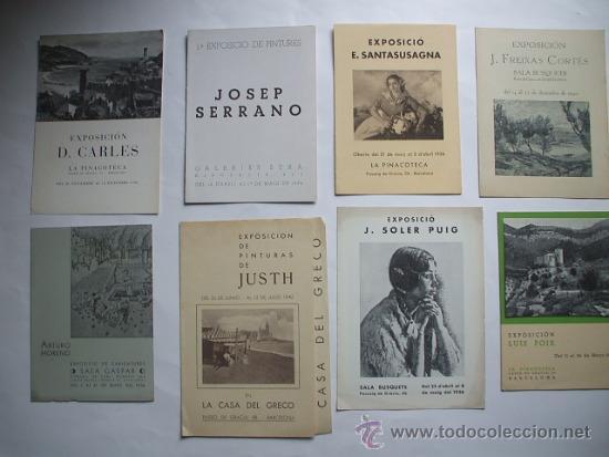 Arte: Lote de 40 CATALOGOS DE ARTE de los años 30-40-50-60 - Foto 7 - 32087097
