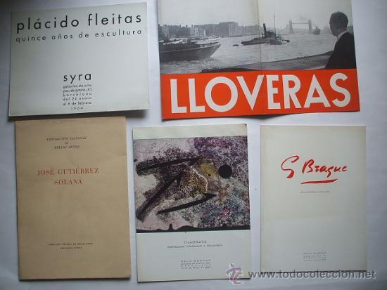 Arte: Lote de 40 CATALOGOS DE ARTE de los años 30-40-50-60 - Foto 8 - 32087097
