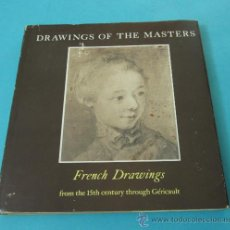 Arte: DRAWINGS OF THE MASTERS. FRENCH DRAWINGS. JEAN VALLERY-RADOT. EN INGLÉS. Lote 32420844