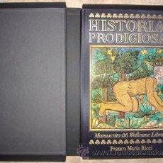Arte: HISTORIAS PRODIGIOSAS. MANUSCRITO 136 WELCOME LIBRARY. FRANCO MARIA RICCI. Lote 32454411