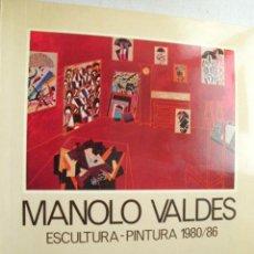 Arte: MANOLO VALDÉS. ESCULTURA - PINTURA 1980 / 86. Lote 32973134