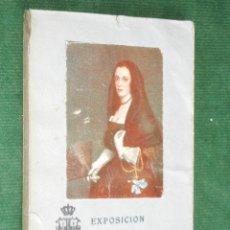 Arte: CATALOGO-GUIA EXPOSICIÓN DE EL ABANICO EN ESPAÑA 1920, POR JOAQUIN EZQUERRA DEL BAYO. Lote 34284100