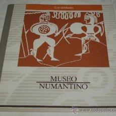 Arte: GUIA DEL MUSEO NUMANTINO JUNTA DE CASTILLA Y LEON 1990. Lote 34313833