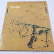 Arte: TÀPIES. 1962-1979. MATÈRIES I GRANS FORMATS, GALERIA MAEGHT 32X23 CM.. Lote 34769644