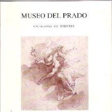 Arte: MUSEO DEL PRADO. CATÁLOGO DE DIBUJOS, VII: DIBUJOS ITALIANOS DEL SIGLO XVIII. Lote 34900984