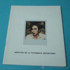 Arte: ASPECTOS DE LA FOTOGRAFÍA INSTANTÁNEA. Lote 35455680