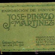 Arte: JOSE PINAZO MARTINEZ - 1916 - GALERIAS LAYETANAS. Lote 35550741