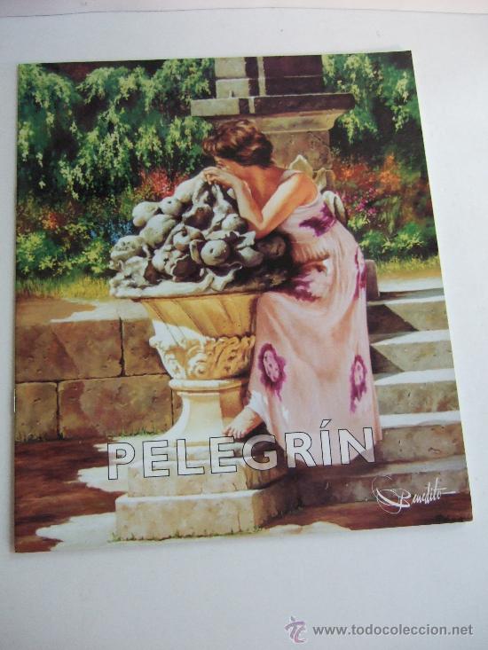 CATALOGO EXPOSICION - PELEGRIN - FEBRERO 2001 - SALA BENEDITO MALAGA - 4 HOJAS (Arte - Catálogos)
