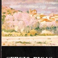 Sergio Bigas. Abril 1978. Galeria Meifren. Tríptico. 22 x 16 cmtrs.