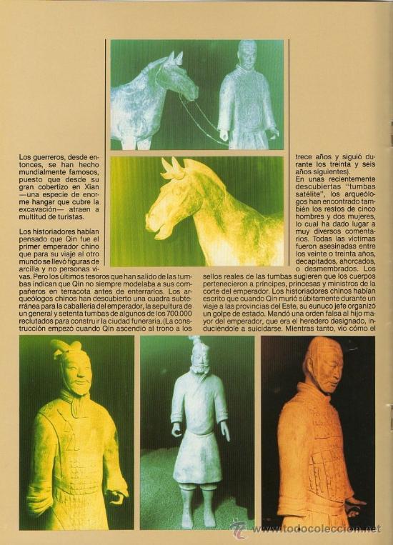 Arte: Catálogo de exposición de Jorba Preciados sobre guerreros de Xi'An - Foto 2 - 36280266