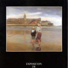 Arte - Carlos Cobian. Julio 1991.Tioda Sala de Arte.Gijón. Tríptico. 26 x 20 cmtrs. - 36336394