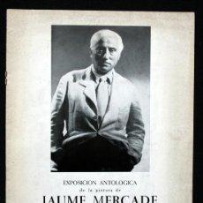 Arte: JAUME MERCADE - 1967 - . Lote 36543112