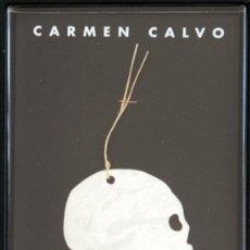 Art: CATALOGO CON OBRA MULTIPLE DE CARMEN CALVO CALAVERA. Lote 36743066