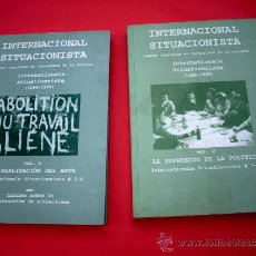 Arte: INTERNACIONAL SITUACIONISTA - 2 VOLUMENES. Lote 36853093