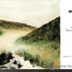 Arte: MANUEL VELASCO. SEPTIEMBRE 1997.GALERÍA ALMIRANTE.MADRID.TARJETA INAUGURACIÓN. 21X11 CMTRS.. Lote 37120727