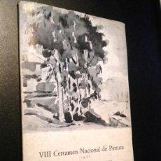 Arte: VIII CERTAMEN NACIONAL DE PINTURA. 1977. HOMENAJE A RUPERTO ÁLVAREZ CARAVIA.. Lote 37347785