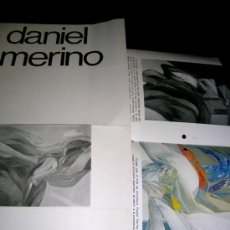 Arte: DANIEL MERINO. 2 CATÁLOGOS EXP,SEVILLA Y VALLADOLID.1976.VER REPRODUC,COLOR Y.BLC/NGR.ENVÍO PAGO-. Lote 38257686