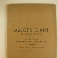 Arte: CATALOGO DE LA GALERIE GEORGES PETIT.28 DE NOVIEMBRE DE 1927.PARIS.. Lote 38421754