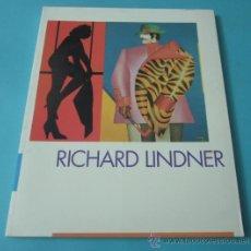 Arte: RICHARD LINDNER. CATÁLOGO EXPOSICIÓN EN EL IVAM. VALENCIA 1999. Lote 38527976