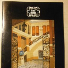 Arte: CATALOGO-PRESENTACIÓN EXPOSICIÓN PINTORA NURIA LLIMONA, SALA NONELL AÑO 1988. Lote 38734557