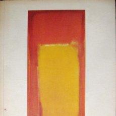 Arte: AMERICA. AMERICA. CALDER, JASPER JOHNS, DE KOONING, POLLOCK, ROTHKO, WARHOL. CATÁLOGO. Lote 38977133