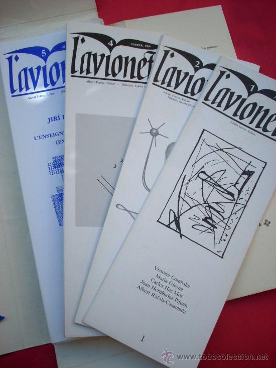 Arte: L'AVIONETA. 14 números. 1987 - 1996 - Col.lecció completa - Foto 3 - 39110881